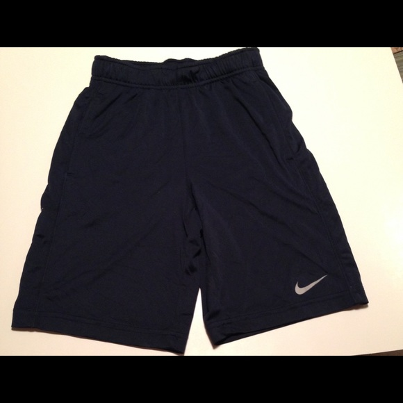 37b40c85f Nike Bottoms | Youth Small Boys Drifit Shorts Navy Blue | Poshmark